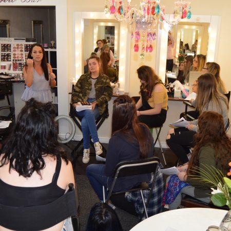 grainne-mccoy, workshop, makeupartist, muagrainnemccoy, irishblogger, international-fund-for-ireland