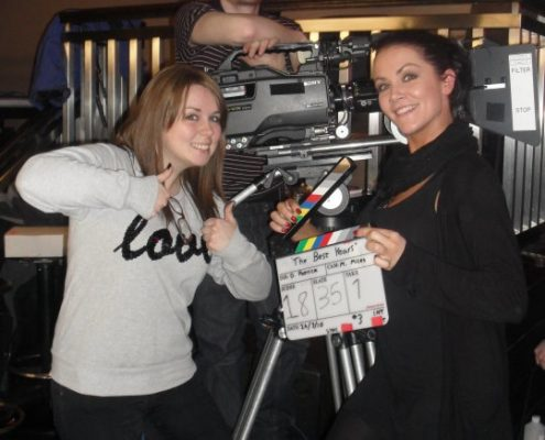 film set makeup artist grainne mccoy