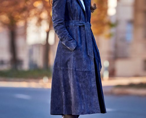 grainne mccoy trench coat, next trench, makeup artist,