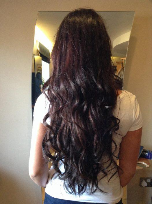 real hair extensions, grainne mccoy makeup artist, blogger uk, irish blogger, makeup, mua blogger