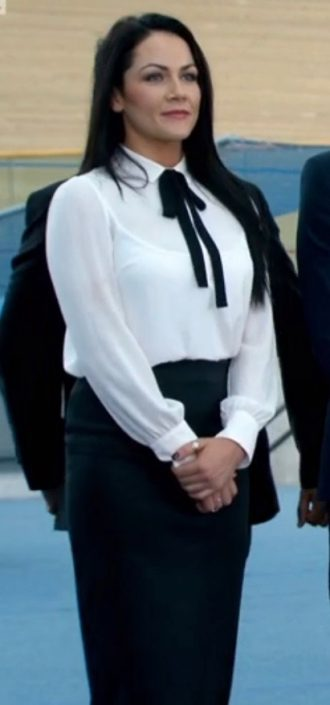 what I wore on the apprentice 2016, candidate, makeup, tv makeup, clothes, blogger