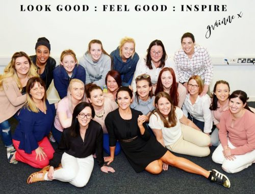 Look Good, Feel Good, Inspire, Grainne McCoy, Qube Learning,