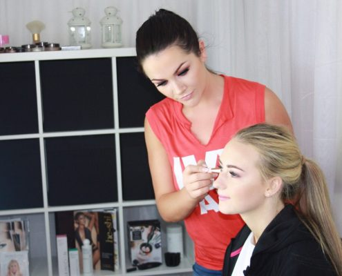 makeup courses grainne mccoy, one to one makeup course, grainne mccoy apprentice,