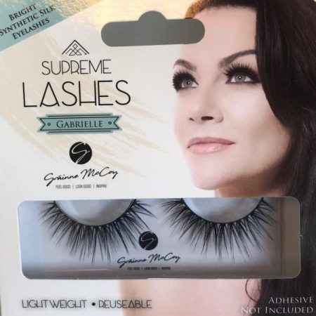 Gabrielle Lash by Grainne McCoy, synthetic lash, silk lash, eyelashes