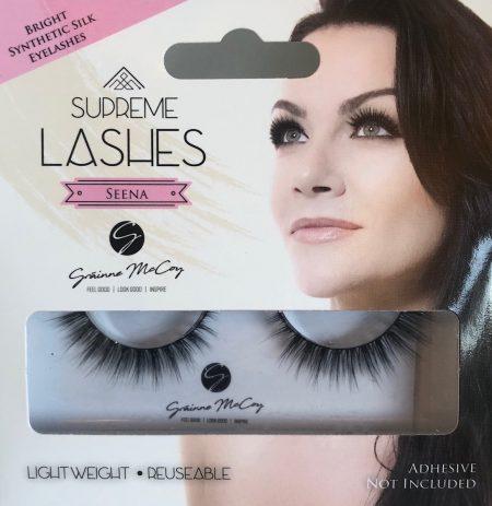 Eyelashes Grainne McCoy, Seena Lash Grainne McCoy, synthetic lash, eyelashes uk, false eyelashes, apprentice lashes