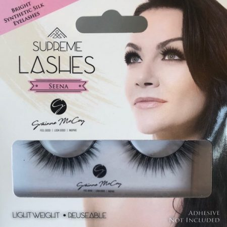 Eyelashes Grainne McCoy, Seena Lash Grainne McCoy, synthetic lash, eyelashes uk, false eyelashes, apprentice lashes